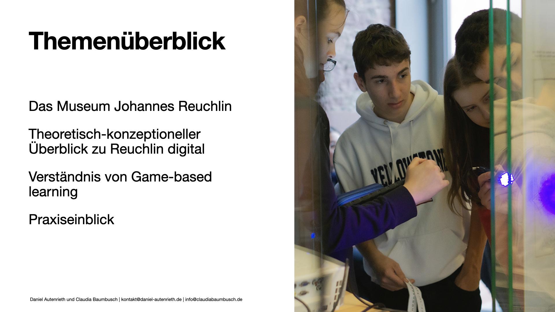 Reuchlin Digital auf der MAI Tagung 2021